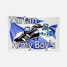 Tartan Army Boys Rectangle Magnet