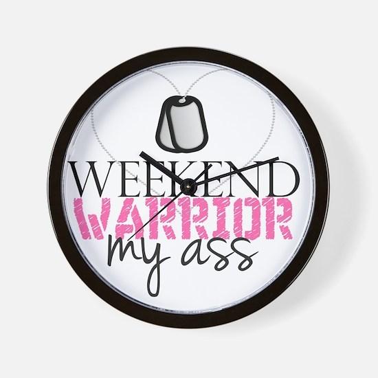 weekendwarrior Wall Clock
