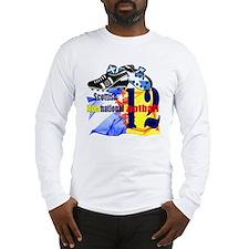 scotland football design black Long Sleeve T-Shirt
