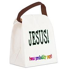 jesusgay Canvas Lunch Bag