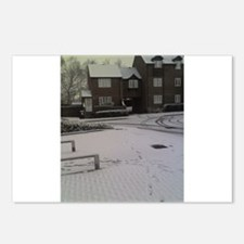 Morning Snow Postcards (Package of 8)