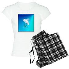 Heart JewelGreat Egret Pajamas