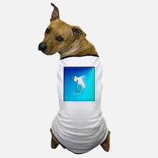 Heart JewelGreat Egret Dog T-Shirt