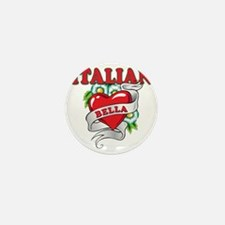 italian bella Mini Button