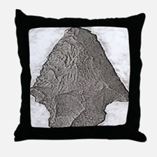 Projectile Point Throw Pillow