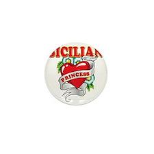 sicilian princess Mini Button