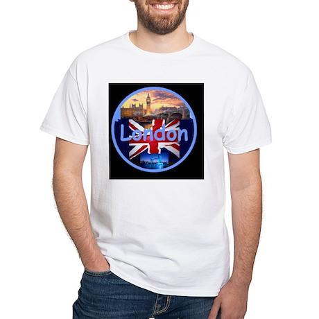 LONDON White T-Shirt