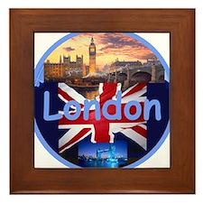 LONDON Framed Tile