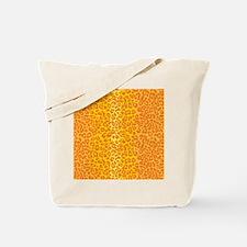 iPadLeopardOrange Tote Bag