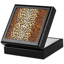 iPadLeopardClassic Keepsake Box