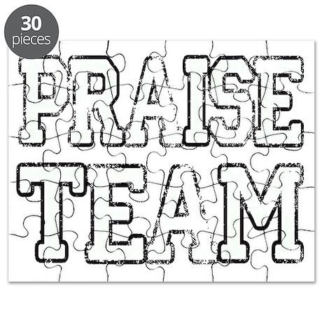 Praise Team White Puzzle by Admin_CP42561313
