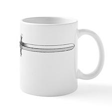 Paladin in white Mug