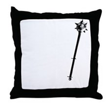 Cleric white Throw Pillow