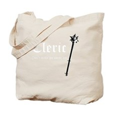 Cleric white Tote Bag