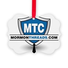 Mormon Threads Logo Ornament