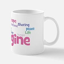 Imagine_black Mug