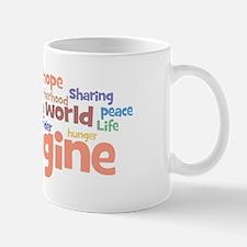 Imagine_white_mens Mug