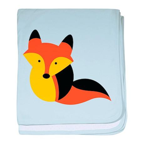 Super cute Kawaii foxy vixen baby blanket