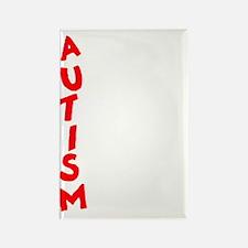 Autism dark Rectangle Magnet