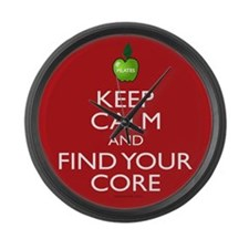 Keep Calm And Find Your Core Pilates Large Wall Cl