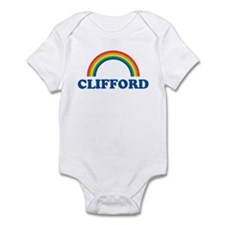 CLIFFORD (rainbow) Infant Bodysuit