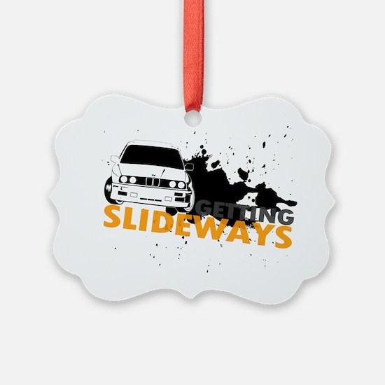 BMW Getting Slideways Ornament