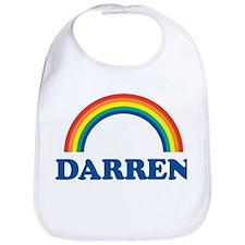 DARREN (rainbow) Bib
