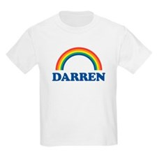 DARREN (rainbow) Kids T-Shirt