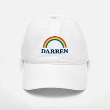 DARREN (rainbow) Baseball Baseball Cap