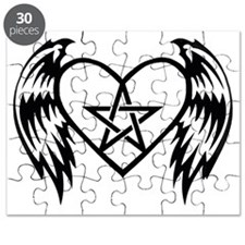 heart pentacle tattoo Puzzle