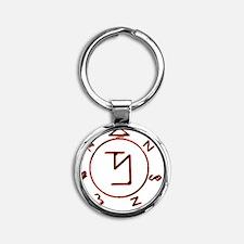 banishing sigil Round Keychain