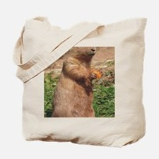 Prairie dog 9x12 Tote Bag