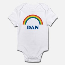 DAN (rainbow) Infant Bodysuit