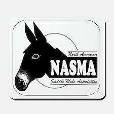 NASMA Logo for Black Mousepad