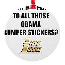 I Lean Right 16 Ornament