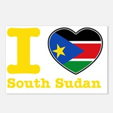 ilovesouthsudan1 Postcards (Package of 8)