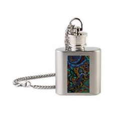 441 Funky Flask Necklace
