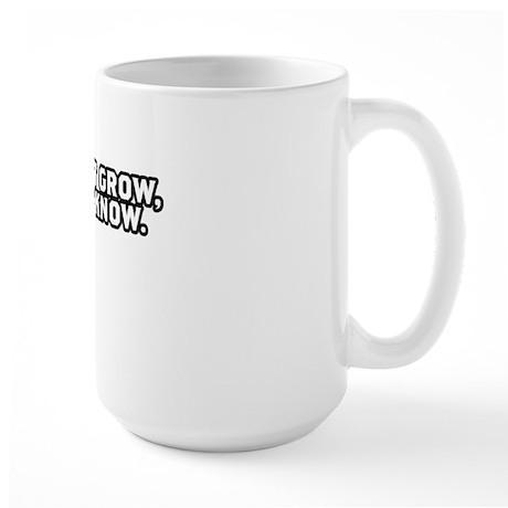 TSHIRTS_grow_white Large Mug