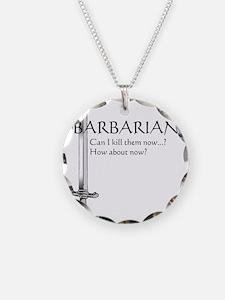 Barbarian Black Necklace