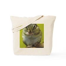 chipmunk 9x12 Tote Bag