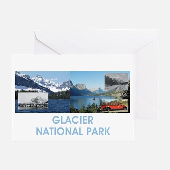 glaciertran Greeting Card