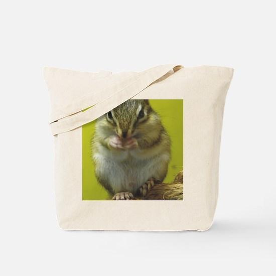 chipmunk ipad Tote Bag