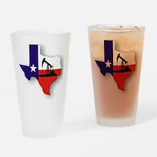 Texas Drinking Glass
