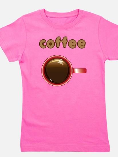 Coffee_incups Girl's Tee