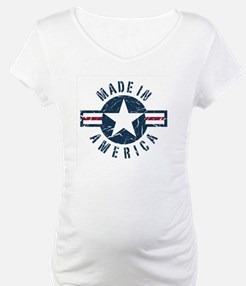 Made in USA-blue Shirt