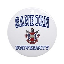 SANBORN University Ornament (Round)