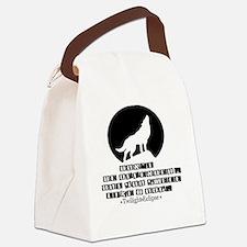 Smelllikeadoginvert Canvas Lunch Bag