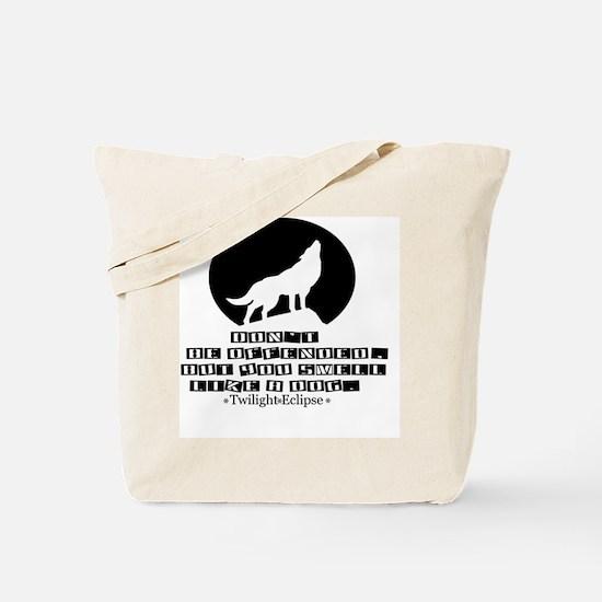 Smelllikeadoginvert Tote Bag