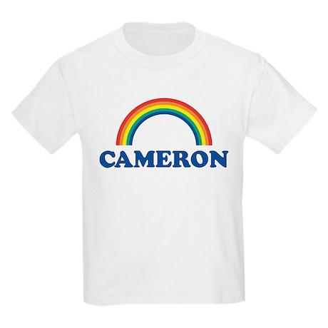 CAMERON (rainbow) Kids T-Shirt