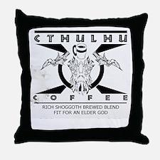 Cthulhu Coffee Throw Pillow